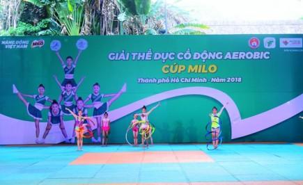 93 doi tham giai the duc co dong aerobic tp ho chi minh cup milo lan 2 2018