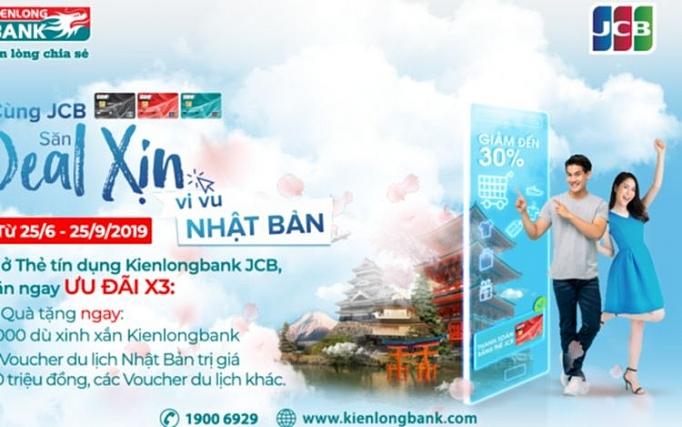 kienlongbank jcb khuyen mai lon cho khach hang mo the