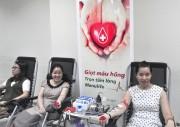 Manulife hiến tặng hơn 260 đơn vị máu cho cộng đồng