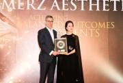 BB Beauté- BB Thanh Mai nhận 2 giải thưởng của Merz Aesthetics Night