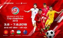 vinaphone tai tro chinh giai bong da quoc te u23 cup vinaphone 2018