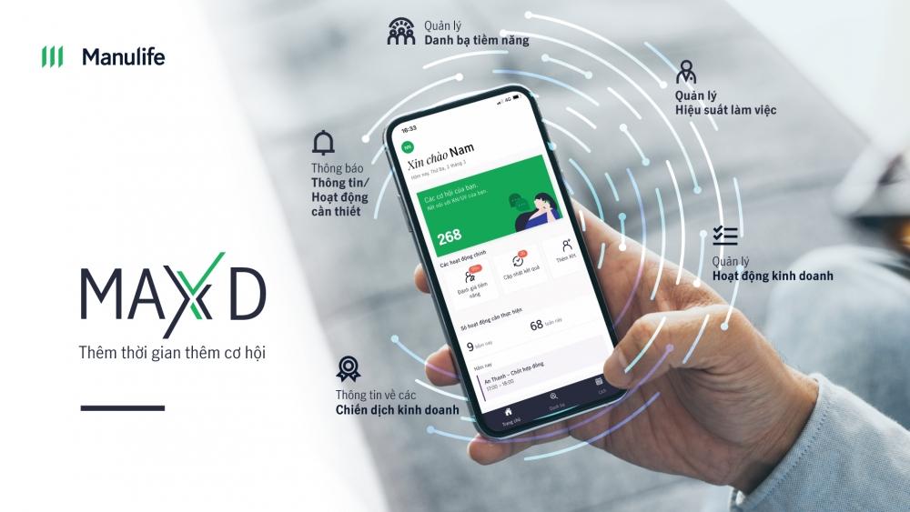 Manulife Việt Nam ra mắt ứng dụng trợ lý ảo MaxX D dành cho Đại lý