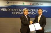 VinaCapital ký kết hợp tác với Shinhan BNP Paribas Assess Management