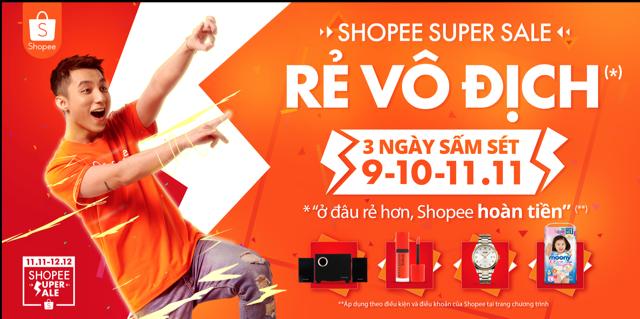 Shopee chính thức khởi động sự kiện mua sắm lớn nhất mùa cuối năm