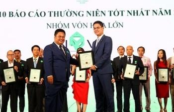 novaland duoc trao giai cuoc binh chon doanh nghiep niem yet 2018