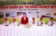Xây dựng chuỗi liên kết nâng tầm nông sản Việt Nam