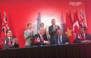 Bang Ontario - Canada ký kết 14 thỏa thuận hợp tác với Việt Nam