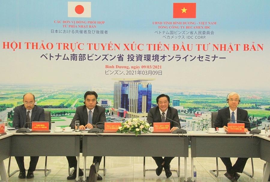 Bình Dương đẩy mạnh xúc tiến thu hút đầu tư Nhật Bản