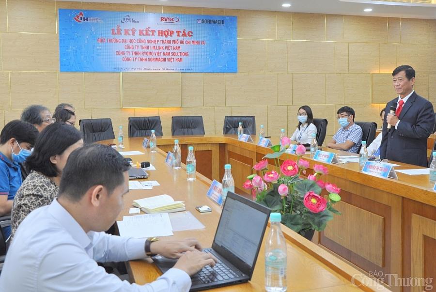 IUH hợp tác với doanh nghiệp FDI Nhật Bản đào tạo và cung ứng nguồn nhân lực