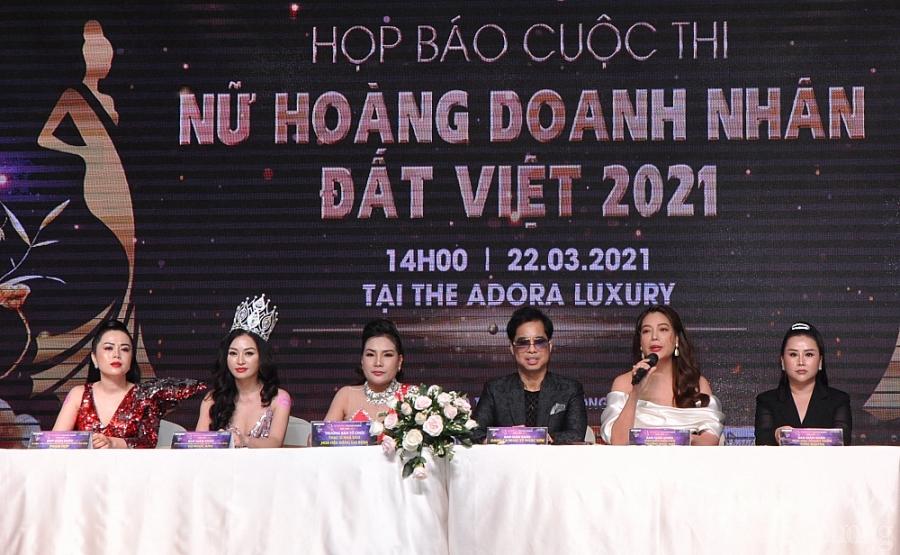 Chính thức công bố cuộc thi Nữ hoàng Doanh nhân đất Việt năm 2021