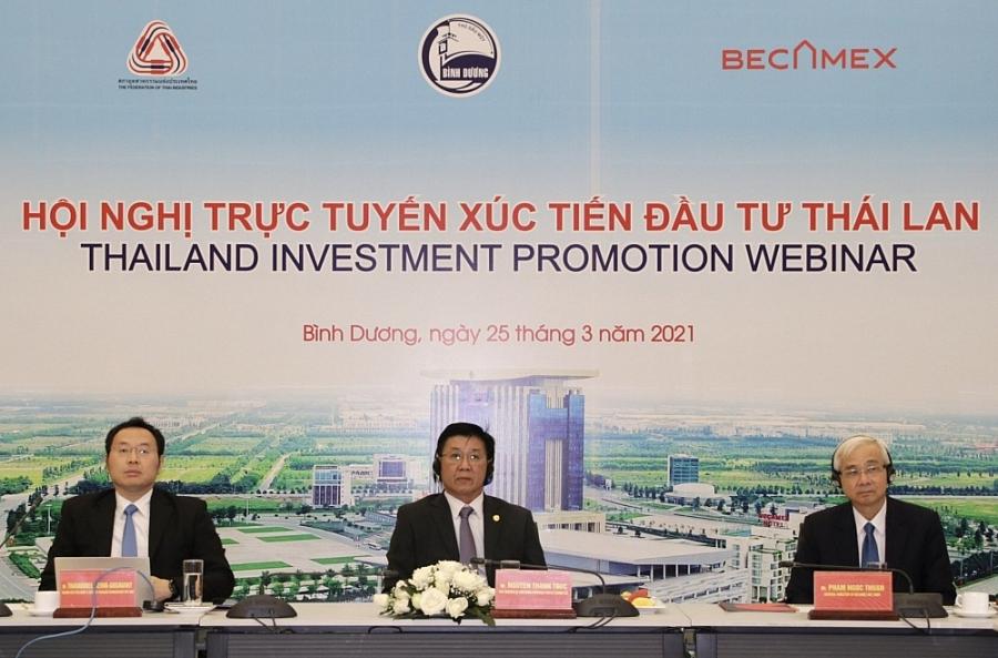 Doanh nghiệp Thái Lan quan tâm đầu tư vào ngành công nghiệp hỗ trợ của Bình Dương