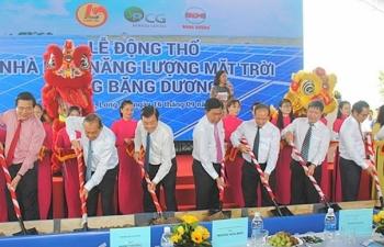 long an dong tho du an nang luong mat troi 42 trieu usd