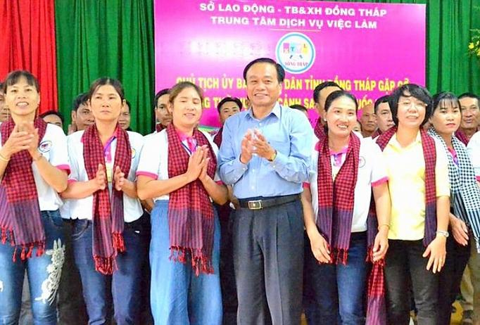 dong thap day manh dua lao dong lam viec o nuoc ngoai