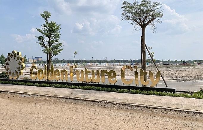 binh duong xu phat xay dung khong phep du an golden future city
