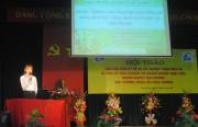 Sinh viên Đại học Công nghiệp TP.Hồ Chí Minh báo cáo giữa kỳ Đồ án lớp KOSEN - Dự án JICA