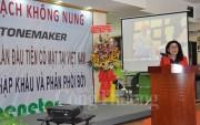 Stonemaker giới thiệu máy ép gạch không nung kỹ thuật số tại Việt Nam