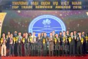 """Agtex 28 nhận giải thưởng """"Thương mại Dịch vụ Việt Nam' xuất sắc"""