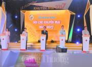 TP. Hồ Chí Minh: Khai mạc Hội chợ khuyến mại 2017