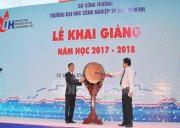 Đại học Công nghiệp TP. Hồ Chí Minh khai giảng năm học 2017-2018
