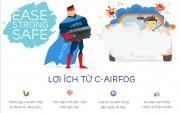 Công nghệ lọc không khí và diệt khuẩn ô tô C-airfog đến Việt Nam
