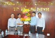 Cơ quan đại diện Báo Công Thương chúc mừng các trường tại TP. Hồ Chí Minh