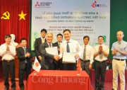 Mitsubishi Việt Nam tài trợ thiết bị tự động hóa cho Trường ĐH Công nghiệp TP.Hồ Chí Minh
