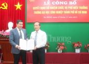 Bổ nhiệm Phó hiệu trưởng Trường đại học Công nghiệp TP. Hồ Chí Minh