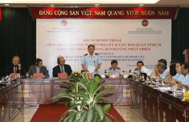 Hải quan TP. Hồ Chí Minh đối thoại với cộng đồng doanh nghiệp Hoa Kỳ