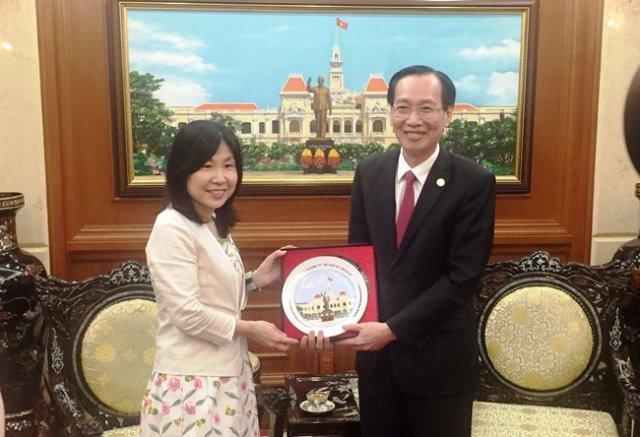 TP Sakai tỉnh Osaka (Nhật Bản) xúc tiến đầu tư tại TP. Hồ Chí Minh và tỉnh Đồng Nai