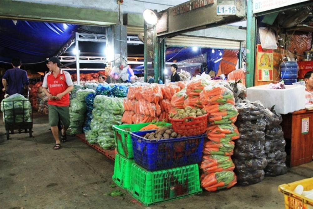 Giá thực phẩm hôm nay 8/3: Rau củ tiếp tục đà giảm giá