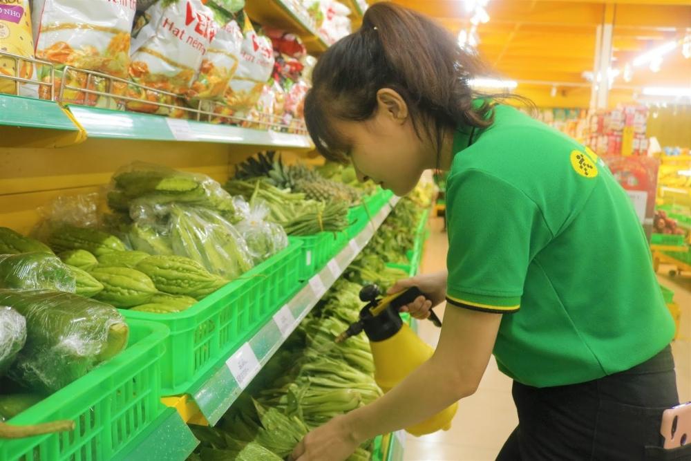 Giá thực phẩm ngày 19/4: Giá rau xanh giảm, củ quả tăng nhẹ