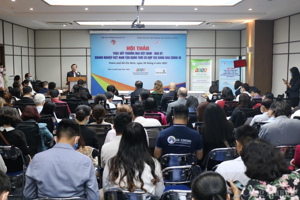 """Thúc đẩy thương mại Việt Nam - Hoa Kỳ: Thời cơ """"vàng"""" đã đến"""