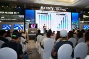 Sony giới thiệu loạt TV 4K HDR 2017