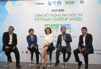 khoi dong cuoc thi vietnam startup wheel 2018