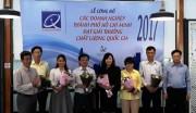 TP. Hồ Chí Minh tôn vinh các doanh nghiệp đạt Giải thưởng Chất lượng Quốc gia 2017