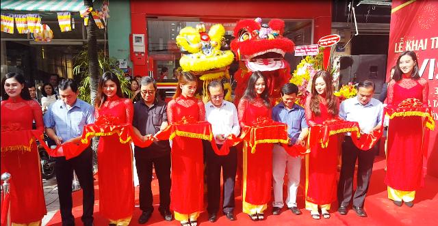 Khai trương cửa hàng thực phẩm VISSAN tại Quận Tân Phú