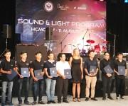 Tập huấn và trải nghiệm âm thanh ánh sáng với các chuyên gia Hoa Kỳ