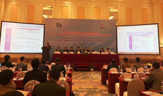 JICA hỗ trợ đánh giá về công nghệ carbon thấp