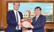 TP. Hồ Chí Minh tăng cường hợp tác với Israel