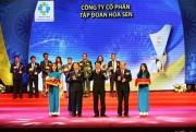 Tập đoàn Hoa Sen đạt danh hiệu quốc gia cả 3 nhóm sản sản phẩm