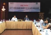 Lấy ý kiến góp ý của doanh nghiệp cho dự thảo Luật Chăn nuôi