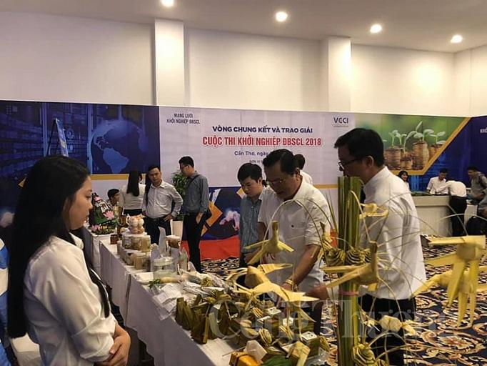 chung ket cuoc thi khoi nghiep do ng ba ng song cu u long nam 2018