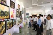 202 tác phẩm tham dự Triển lãm mỹ thuật khu vực VIII - đồng bằng sông Cửu Long