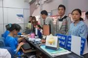 Ga Sài Gòn bán hơn 300.000 vé tàu Tết Mậu Tuất