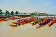 Giải đua ghe Ngo mang đậm nét văn hóa đặc trưng