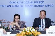 Tăng cường hợp tác doanh nghiệp Ấn Độ và An Giang