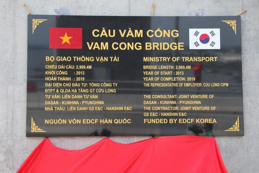 can tho cau vam cong chinh thuc duoc thong xe