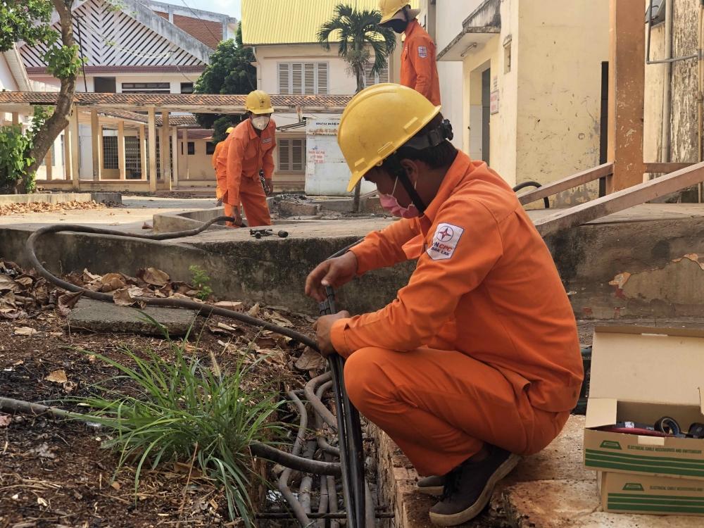 PC Đắk Lắk: Sẵn sàng cấp điện cho các bệnh viện, trung tâm y tế và cơ sở cách ly