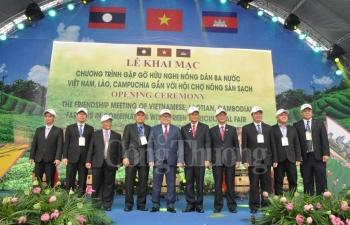 be mac chuong trinh gap go nong dan 3 nuoc viet nam lao campuchia