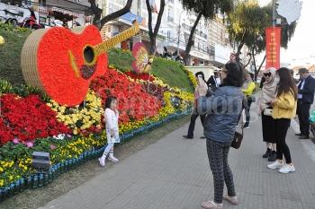 lam dong don hon 250 ngan luot khach trong dip festival hoa da lat